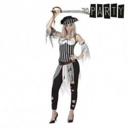 Costume per Adulti Pirata donna (6 Pcs) XS/S
