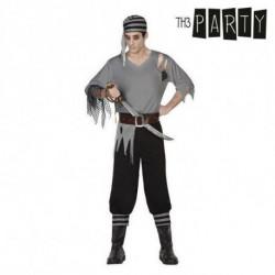 Costume per Adulti Pirata uomo (4 Pcs) M/L