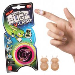 Nowstalgic Toys Bright Bugz V-Light (2 Uds) Bleu