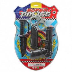 Conjunto de Polícia (4 pcs)