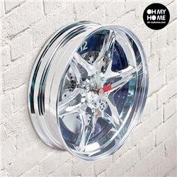 Wheel Rim Wall Clock