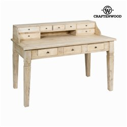 Bureau Bois mindi (135 x 75 x 100 cm) - Collection Pure Life by Craftenwood