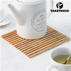 Dessous de Plat Flexible en Bambou TakeTokio
