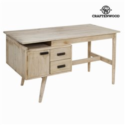 Desk Mindi wood (140 x 70 x 76 cm) - Pure Life Collection by Craftenwood