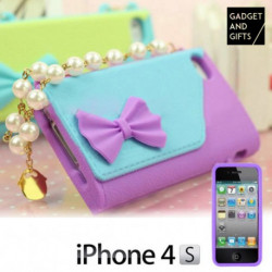 Funda iPhone 4/4S Bolso con Perlas Gadget and Gifts