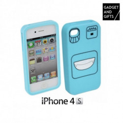 Custodia in silicone per iPhone 4/4S con emoticons Gadgets and Gifts