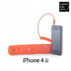 Écouteur Antiradiation pour iPhone Noir