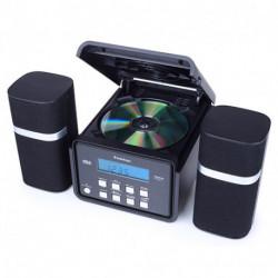 AudioSonic HF-1251 aparelhagem de som Micro sistema de áudio Preto 6 W