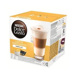 Capsule di caffè Nescafé Dolce Gusto 70676 Latte Macchiato (16 uds) Vaniglia