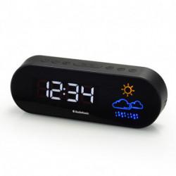 AudioSonic CL-1489 rádio Relógio Digital Preto