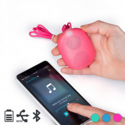 AudioSonic SK-1513 Tragbarer Lautsprecher 3 W Tragbarer Stereo-Lautsprecher Pink