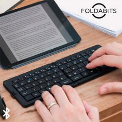 Tastiera Bluetooth Pieghevole Foldabits