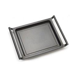 Piastra griglia liscia BRA A271535 35 cm Nero