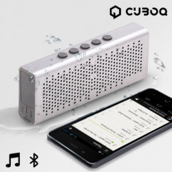 Altoparlanti Bluetooth Waterproof CuboQ Metal