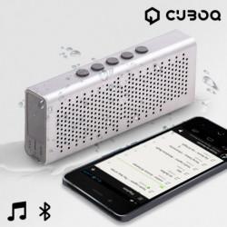 CuboQ Metal Waterproof Bluetooth Lautsprecher