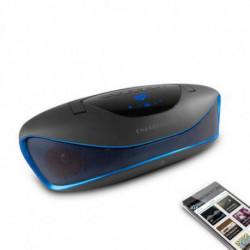 Energy Sistem Bluetooth-Spieluhr 396948 BZ6 MP3+FM+USB Schwarz Blau