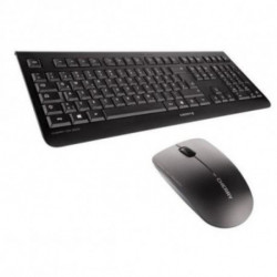 CHERRY DW 3000 Tastatur RF Wireless QWERTY UK Englisch Schwarz