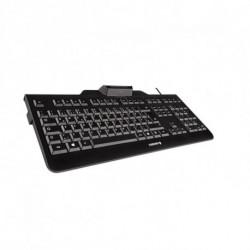 CHERRY KC 1000 SC keyboard USB QWERTY Spanish Black