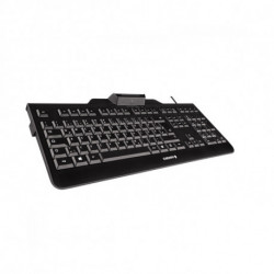 CHERRY KC 1000 SC tastiera USB QWERTY Spagnolo Nero