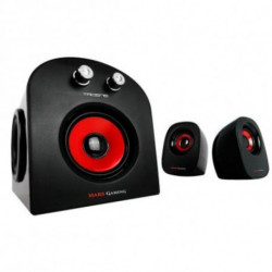 Mars Gaming MS2 Lautsprecherset 2.1 Kanäle 20 W Schwarz