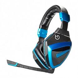 Hiditec HDT1 Stereofonico Padiglione auricolare Nero, Blu