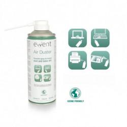 Ewent EW5601 kit de limpieza para computadora Limpiador de aire comprimido para limpieza de equipos Lugares difíciles de alc...