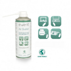 Ewent EW5601 kit per la pulizia Pulitore ad aria compressa per la pulizia delle attrezzature Difficile da raggiungere 400 ml