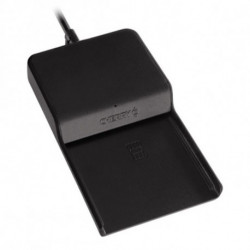 CHERRY TC 1100 lector de tarjeta inteligente Interior Negro USB 2.0