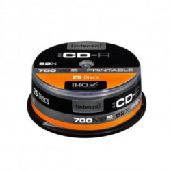 INTENSO CD-R Printable 1801124 52x 700 MB 25 pcs