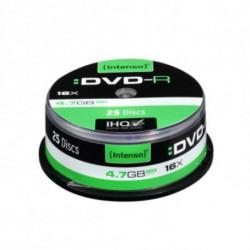 INTENSO DVD-R 4101154 16x 4.7 GB 25 pcs