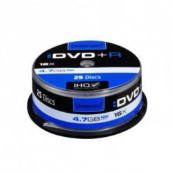INTENSO DVD+R 4111154 16x 4.7 GB 25 pcs