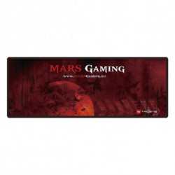 Mars Gaming MMP2 tappetino per mouse Nero, Rosso