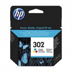 HP 302 Original Cian, Magenta, Amarillo 1 pieza(s) F6U65AE