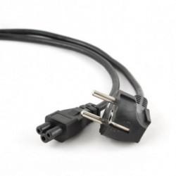 iggual IGG311202 cable de transmisión Negro 3 m CEE7/7 C5 acoplador