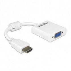 DELOCK Adaptador HDMI para VGA 65346 Branco
