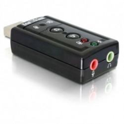 DELOCK Adaptador de Sonido USB 61645