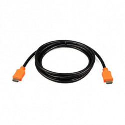 iggual PSICC-HDMI4L-15 cabo HDMI 4,5 m HDMI tipo A (padrão) Preto, Laranja