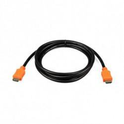 iggual PSICC-HDMI4L-15 cavo HDMI 4,5 m HDMI tipo A (Standard) Nero, Arancione