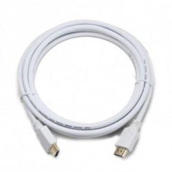 iggual IGG312445 HDMI-Kabel 1 m HDMI Typ A (Standard) Weiß