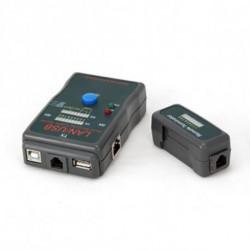 iggual PSINCT-2 comprobador de cables de red Negro