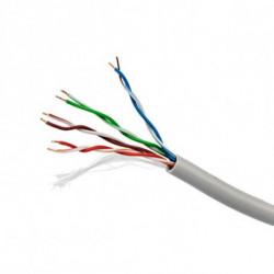 iggual 100m Cat5 UTP cavo di rete U/UTP (UTP) Grigio