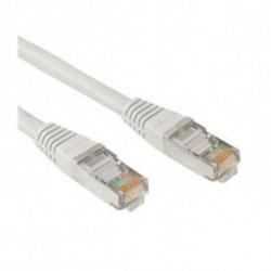 NANOCABLE Câble Catégorie 6 UTP 10.20.0400 0,5 m Gris
