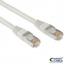 NANOCABLE Câble Catégorie 6 UTP 10.20.1305 5 m Gris