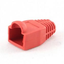 iggual IGG312872 protector de cable Rojo 10 pieza(s)