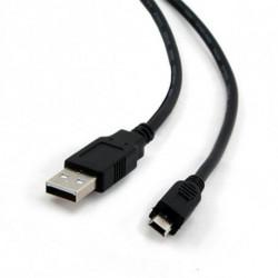 iggual 1.8m USB 2.0 câble USB 1,8 m USB A Mini-USB B Noir