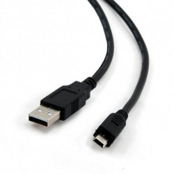 iggual 1.8m USB 2.0 USB Kabel 1,8 m USB A Mini-USB B Schwarz