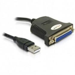 DELOCK Adaptador USB para Porto Paralelo 61330 80 cm