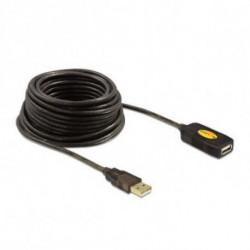 DELOCK Cable Alargador 82446 USB 2.0 10 m