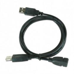 iggual IGG312049 USB Kabel 0,9 m 2.0 USB A 2 x USB A Schwarz