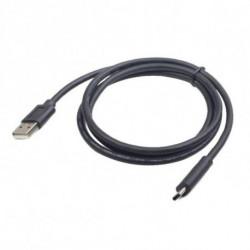 iggual IGG311929 câble USB 1,8 m 2.0 USB A USB C Noir
